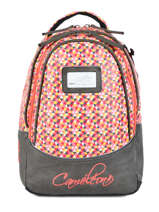 Backpack For Kids 2 Compartments Cameleon Gray retro RET-SD31