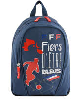 Backpack Federat. france football Blue equipe de france 193X201S
