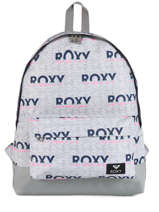 Backpack 1 Compartment Roxy Gray back to school RJBP3950