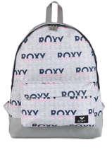 Sac à Dos 1 Compartiment Roxy Gris back to school RJBP3950