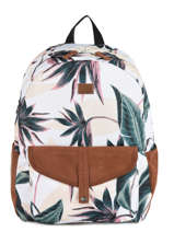 Backpack 1 Compartment Roxy Black back to school RJBP3968
