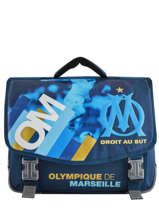 Satchel Olympique de marseille Blue droit au but 192O203S