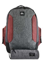 Backpack 2 Compartments Schoolie Quiksilver Black youth access QYBP3557