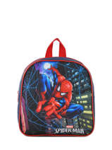 Mini Backpack Mask Spiderman Blue mask SPIEI02