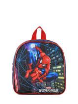 Mini Backpack Mask Spiderman Blue mask SPIEI02
