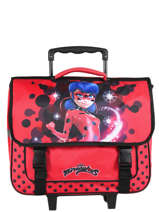 Wheeled Schoolbag Miraculous Red lady bug 12256LTF