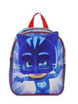 Backpack Mini Pjmasks Blue 3d - 98347PJM