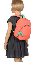 Sac A Dos Mini Kipling Rose back to school 253-vue-porte