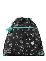 Sports' Bag Kipling Black back to school 9487