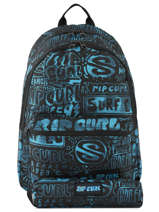 Backpack 2 Compartments With Matching Pencil Case Rip curl Blue frame deal BBPNY4