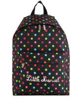 Backpack 1 Compartment Little marcel Black school 8872