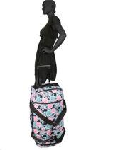 Travel Bag Luggage Roxy Black luggage RJBL3168-vue-porte