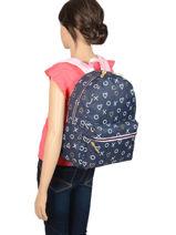 Backpack Milky Kiss Kidzroom Pink milky kiss 37-0110-vue-porte