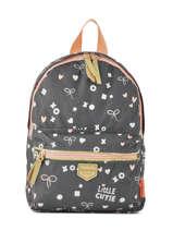Backpack Kidzroom White fearless 30-9409