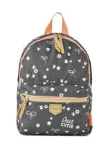 Sac à Dos 1 Compartiment Kidzroom Gris fearless 30-9409