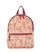 Mini Backpack Animal Academy Kidzroom Gray animal academy 30-9957