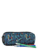 Pencil Case 2 Compartments Caramel et cie Multicolor belle rentree gars TDBL-G-vue-porte