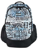 Backpack Cover Up 3 Compartments Rip curl Blue cover up BBPMF4