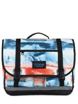 Satchel 2 Compartments Rip curl Red photo script BBPNG4