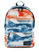 Backpack 1 Compartment Rip curl Red photo script BBPMX4