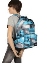 Backpack 1 Compartment Rip curl Blue photo script BBPMX4-vue-porte