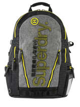"Backpack Monoline Tarp + 15"" Laptop Sleeve Superdry Gray backpack men M91802MU"