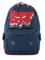 Sac à Dos 1 Compartiment Superdry Bleu backpack men M91801MU
