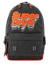 Backpack 1 Compartment Superdry Gray backpack men M91801MU