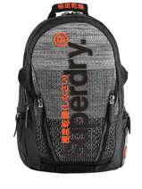 """Sac à Dos Knip Tarp 2 Compartiments + Pc15"""" Superdry Noir backpack men M91800JU"""