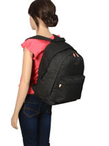 Backpack 2 Compartments Rip curl Black frame deal girl LBPRF4-vue-porte