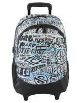 Wheeled Backpack Cover Up 2 Compartments Rip curl Blue cover up BBPNK4