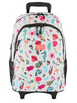 Wheeled Backpack Summer Time 2 Compartments Rip curl Beige summer time LBPQE4
