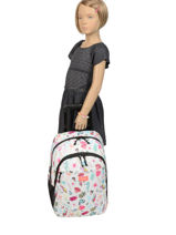 Wheeled Backpack Summer Time 2 Compartments Rip curl Beige summer time LBPQE4-vue-porte
