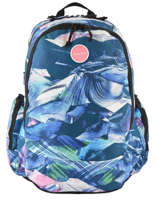 Backpack 3 Compartments Rip curl Multicolor wash LBPQM4