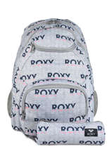 Sac à Dos Shadow Avec Trousse Offerte Roxy Gris back to school RJBP3953