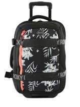 Wheeled Duffle Bag Wheelie Neo Roxy Black luggage neoprene RJBL3163