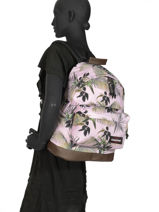 Backpack Wyoming Eastpak Pink K811-vue-porte