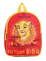 Backpack Mini Le roi lion Red king ROINI03
