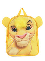 Backpack Mini Le roi lion Yellow king ROINI03S
