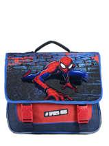 Satchel Spiderman Blue mask SPINI10F