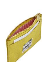 Purse Herschel Yellow classics 10397-vue-porte