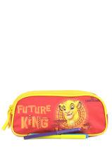 Kit 2 Compartments Le roi lion Orange king ROINI00-vue-porte