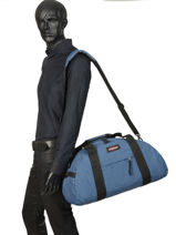 Travel Bag Pbg Authentic Luggage Eastpak Blue pbg authentic luggage PBGK735-vue-porte