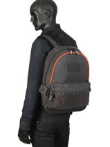 Backpack 1 Compartment Superdry Gray backpack men M9100024-vue-porte