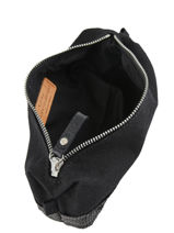 Le Cabas Pencil Case Sequins Vanessa bruno Black cabas 1V42030-vue-porte