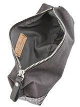 Le Cabas Pencil Case Sequins Vanessa bruno Gray cabas 1V42030-vue-porte