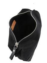 Le Cabas Pouch Sequins Vanessa bruno Black cabas 1V42032-vue-porte