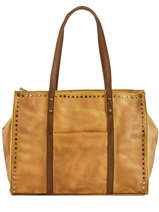 Shopper Authentic Bonded Leather Torrow Yellow authentic TAUT01