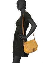 Shoulder Bag Authentic Torrow Yellow authentic TAUT05-vue-porte