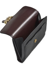 Small Leather Wallet Tabby Coach Black tabby 76527-vue-porte